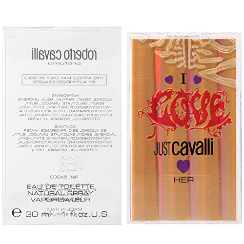 Roberto Cavalli I love just Cavalli Her Eau de Toilette Spray 30 ml