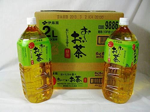 お〜いお茶緑茶 2L×6本 PET