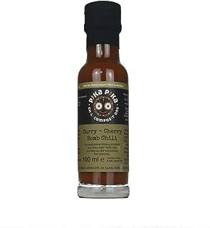 Curry – Cherry Bomb Chili Currysauce / Inhalt 100 ml / Schärfegrad 6 von 10 / Slow Food Manufaktur