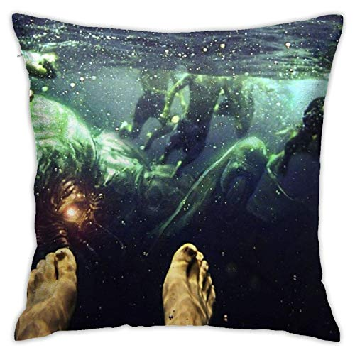 wteqofy Jaws Pillow Cover Friends Throw Pillow Cover Cushion Covers Pillow Case for Home Sofa Bedroom Decor 45 x 45cm