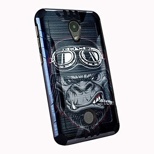 DALUX Combat Phone Case Compatible with Coolpad Legacy S/Legacy SR - Gorilla Biker