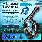 Amiaire - Nemrod. Mascara de Snorkel,180º Visión Panorámica...