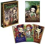 YZHM Oracle Tarjetas 45pcs / Set Tarot Tarjetas Divertidas Divinación Conjunto con Guía Inglés Amigo Party Board Games Juguetes