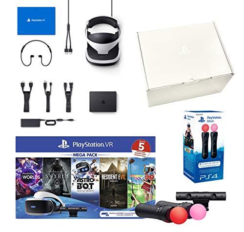 PlayStation VR2 [MegaPack 2] Astro Bot + Skyrim V + Resident Evil 7 + Everybody's Golf + VR Worlds + Kamera V2 + Twin Move Controllers