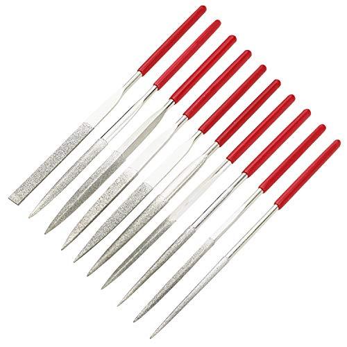 10-Piece Mini Diamond Needle File Set (6