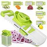 Best Mandolin Slicers - Mandoline Slicer for Kitchen Sedhoom 6 in 1 Review