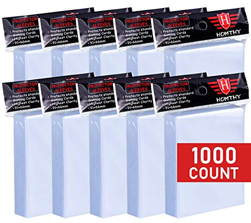 1000 Counts Card Sleeves Toploaders for Trading Card