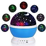 Veilleuse Enfants LED Projecteur Etoiles - Lampe de Projection LED Veilleuse Enfants...