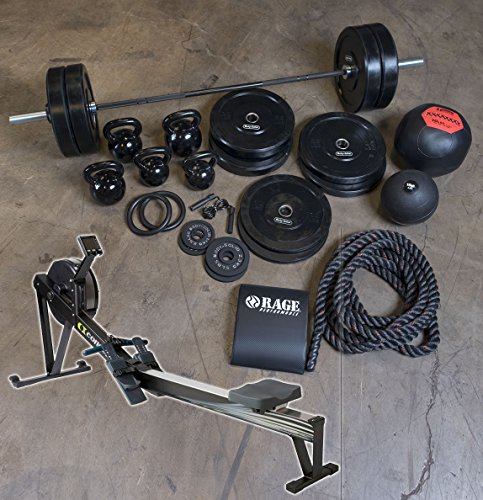 Xtreme Conqueror Package with 320 lb. Bumper Set, Bar, Accessories