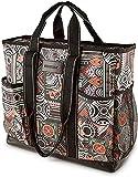 DEMOMENT Water Resistance Large Canvas Utility Tote Bag,Work Teacher Nurse Shoulder Women Bag(Tribal)