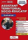 Concours Assistant territorial socio-éducatif - Catégorie A - Tout-en-un - Concours 2020