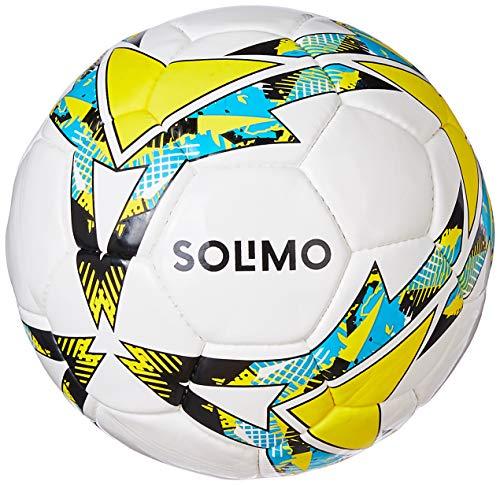 Amazon Brand - Solimo Hand Stitched PU Football, Size 5