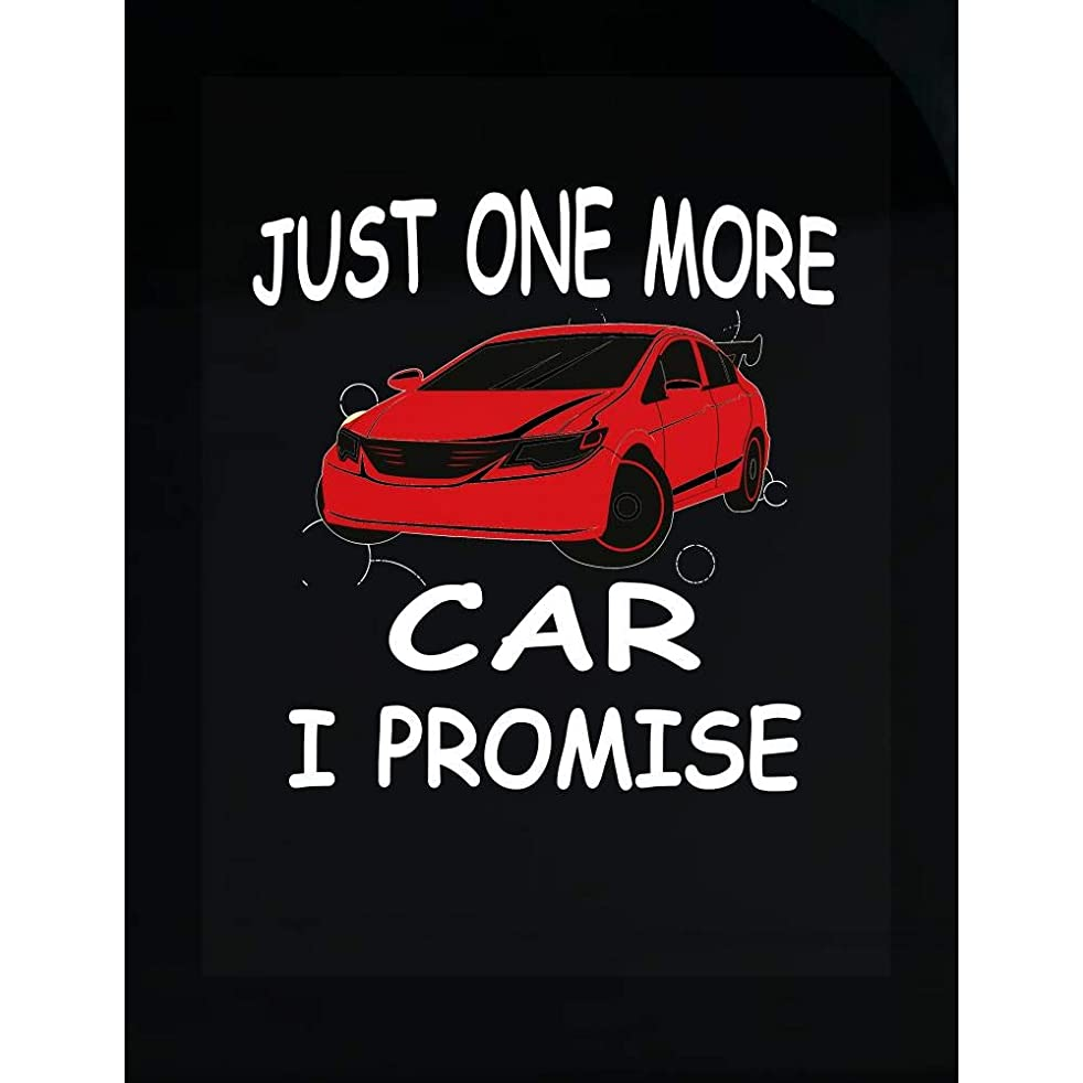 Car Lover Transparent Sticker - Just One More I Promise - Hobby Gift