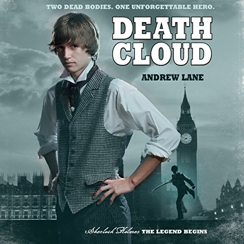 Death Cloud audiobook cover art