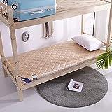 Colchones Colchón plegable de tatami, dormitorio del estudiante enrollar el suelo del plato del plato del plato, colchón de...