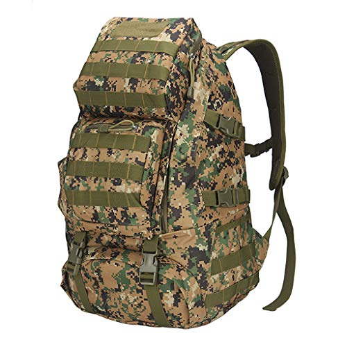 YHHX 3D Backpack, Oxford Cloth Backpack Outdoor Adventure Tactical Camouflage Backpack Outdoor Small Waterproof Backpack Retro Backpack Camouflage Tac.