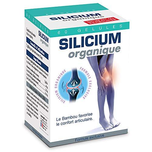 NUTRIEXPERT – Silicium Organique V3 – Renforce souplesse et confort des articulations – Riche en Silicium Organique Origine végétale – Extraits Bambou et Prêle – Reminéralisation osseuse - 60 gélules