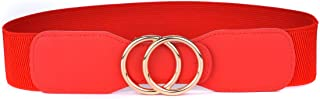 Best wide red elastic belt Reviews
