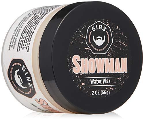 GIBS Grooming Showman Hair Styling Water Wax, 2 oz