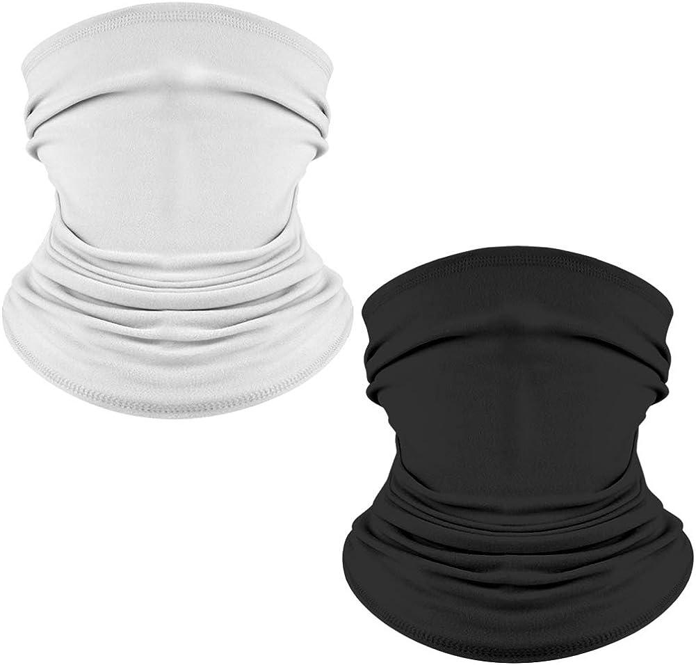 ACRIMAX 2 Pack Unisex Sun UV Face Gaiter Regular dealer Direct sale of manufacturer Mask Ba Neck Protection