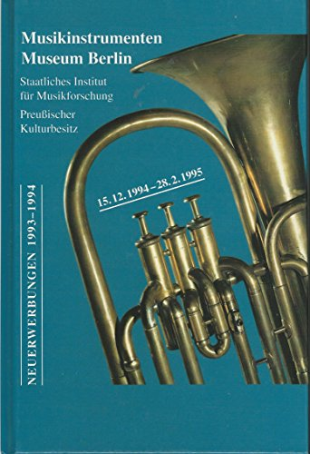Neuerwerbungen 1993-1994.