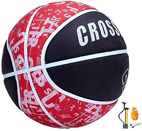Best Review Of ZHOU.D.1 Basketball- Street Basketball Indoor and Outdoor No. 4-5 Basketball with Pum...