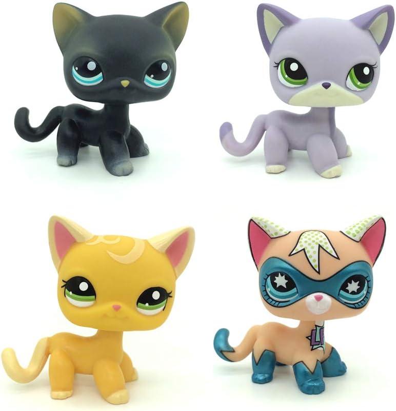 QYXM Be super welcome Spasm price 4Pcs LPS Pet Shop Anim Collect Cartoon Q House