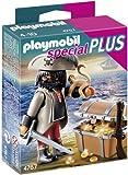 Playmobil Especiales Plus - Pirata con cofre del tesoro (4767) - Pirata con Cofre del Tesoro, Juego de construcción, 10 x 3,5 x 12,5 cm, (4767)