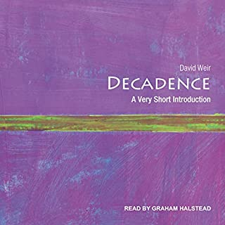 Decadence audiobook cover art