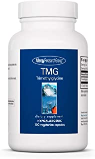 Allergy Research Group - TMG - Trimethylglycine, Betaine, Methylation -100 Vegetarian Capsules