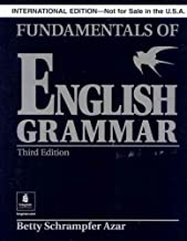 Fundamentals of English Grammar without Answer Key (Black), International Version, Azar Series (3rd Edition)