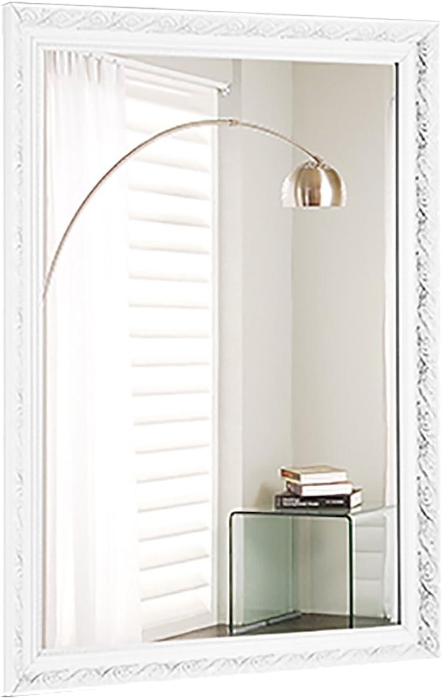 ZHBWJSH European Large Bathroom Mirror Bathroom Mirror Wall Hanging Bathroom Mirror Bathroom Mirror Toilet Mirror (Size   60x80cm)