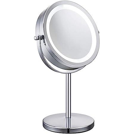 Kosmetikspiegel Doppelseitiger Spiegel 10xVergrößerung füt Makeup Schminkspiegel