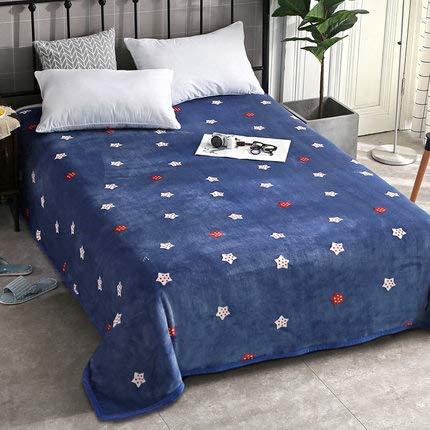 Schlafsofa Decken Flanelldecke Stella 150 * 200 Cm (59 * 70 Pollici) A Plüschdecke Bettdecke Bettdecke Samtdecke