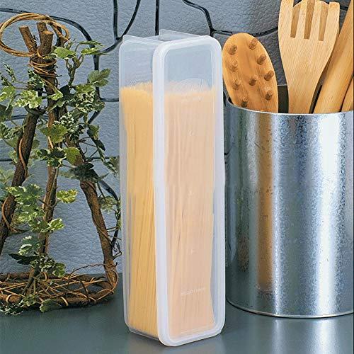 Pasta Box, tragbarer Safe zur Aufbewahrung von Lebensmitteln Spaghetti-Vorratsbehälter in kompakter Größe für Nudeln für Spaghetti