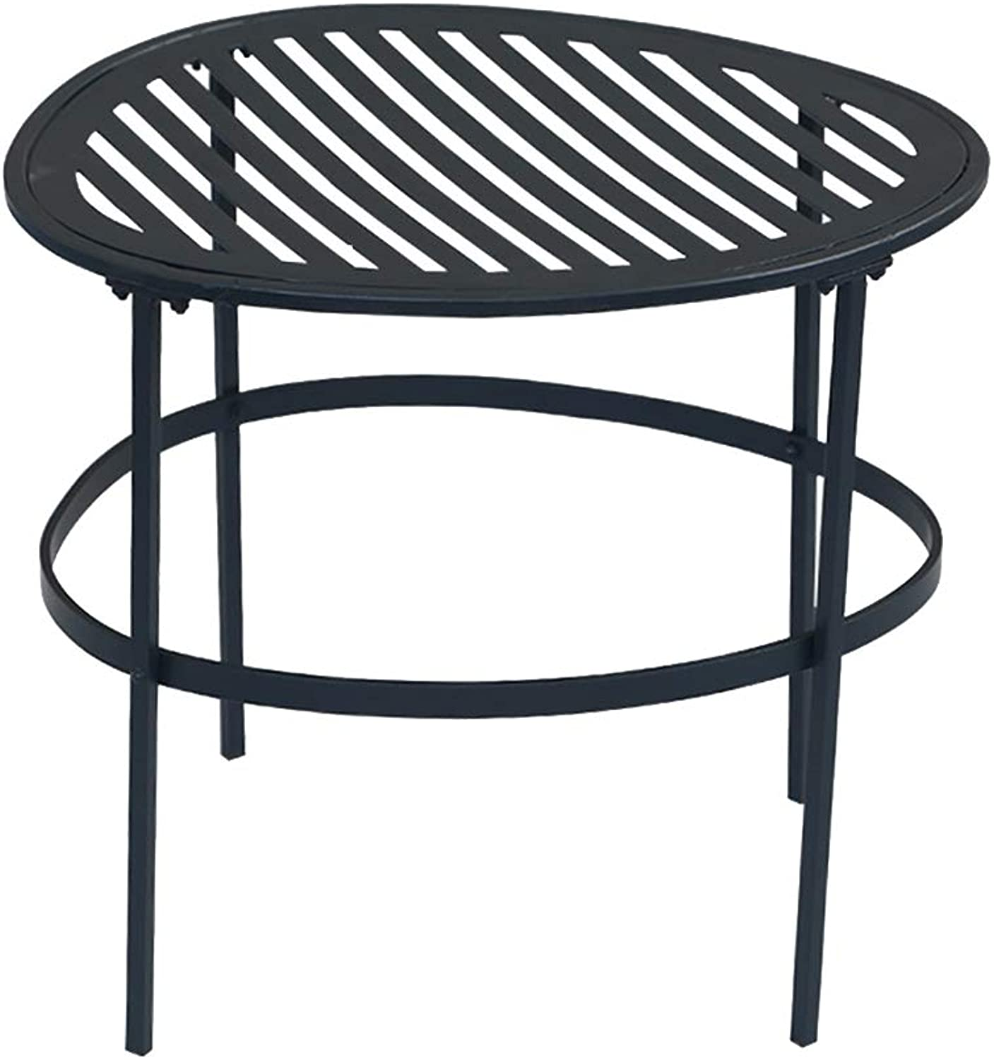 Detachable Small Coffee Table, Nordic Minimalist Style Leisure Table - Iron Round Table - Home Decoration Metal Flower Stand