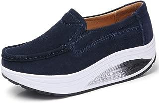Unparalleled beauty Walking Shoes Slip on Loafers Lightweight Casual Suede Memory Foam Sneakers for Women