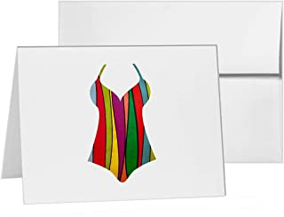 Swimsuit , Blank Card Invitation Pack, 15 cards at 4x6, with White Envelopes, Item 1385956