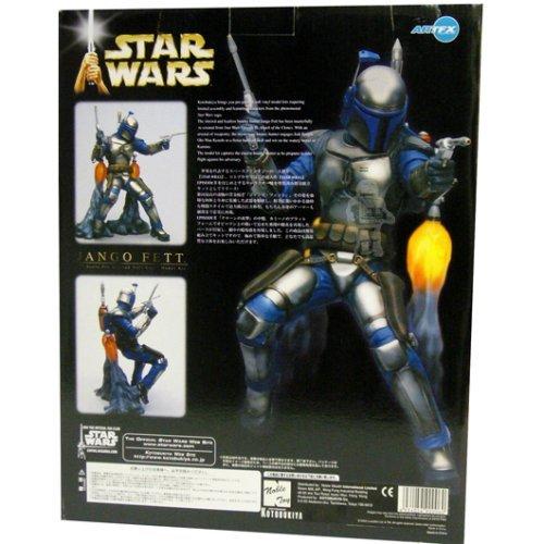 Star Wars Dark Horse Jango Fett Prepainted Model Kit image
