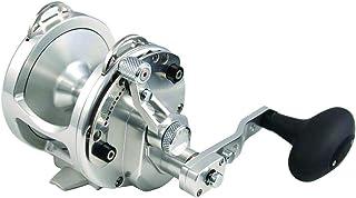 Avet  SXJ6/4SI RAPTOR  2-Speed H6.3:1 L3.8:1 Braid MC Raptor, Silver, 300-30 lb