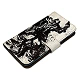 AQUOS R SH-03J ケース [デザイン:2.上杉謙信(白)/マグネットハンドあり] 戦国武将 家紋 和柄 竹に二羽飛び雀 アクオス sh03j 手帳型 スマホケース スマホカバー 手帳 携帯 カバー