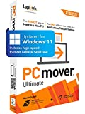 Laplink PCmover Ultimate 11   Moves your Applications, Files and Settings from an Old PC to a New PC   Includes Optional Ethernet Cable   1 Use