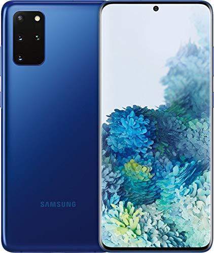 Samsung Galaxy S20+ Plus 5G Enabled 128GB Aura Blue (Factory Unlocked for GSM & CDMA, 6.7 Inch Display, U.S. Warranty) SM-G986UZBAXAA