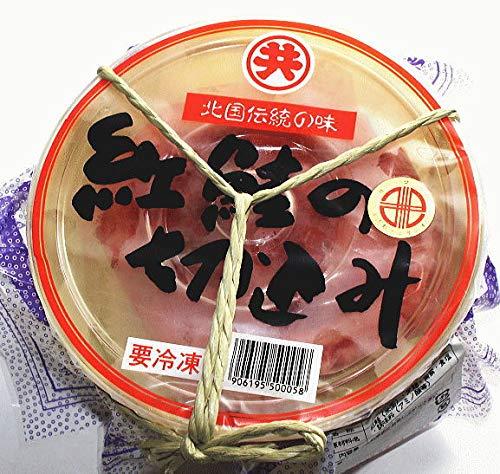海藻問屋 紅鮭 切り込み 500g(樽入り) 珍味 北海 最高級紅鮭 漬け込み 冷凍
