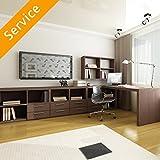 Büromöbelgruppe-Montage - 5+ Teile