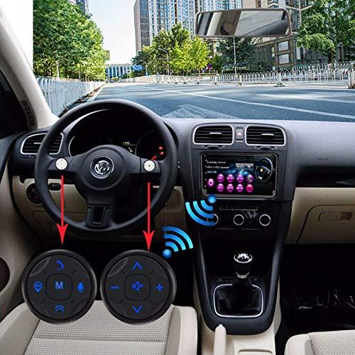 Xyhcs. Auto-Lenkrad-Fernbedienungstaste Drahtlose DVD GPS Navigations-Radio-Fernbedienung Knopf Knob Autoteile Autozubehör