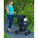 Pet Gear Happy Trails Pet Stroller for Cats/Dogs, Easy Fold with Removable Liner, Storage Basket (PG8030NZJGA) 8