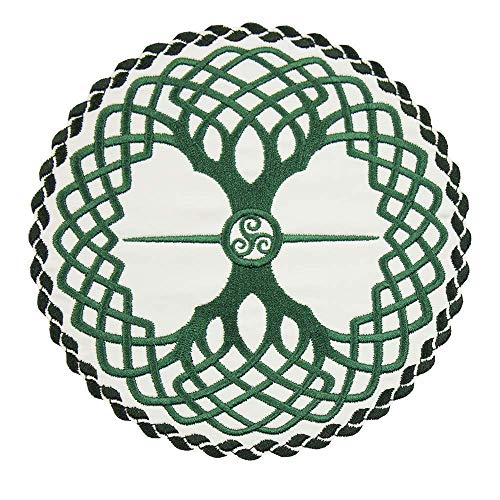 Celtic Tree of Life Applique Patch in your choice of sew on or iron on patch
