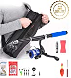 Best Compact Fishing Rod And Reels - JPTACTICAL Telescopic Fishing Rod and Reel Combos Full Review