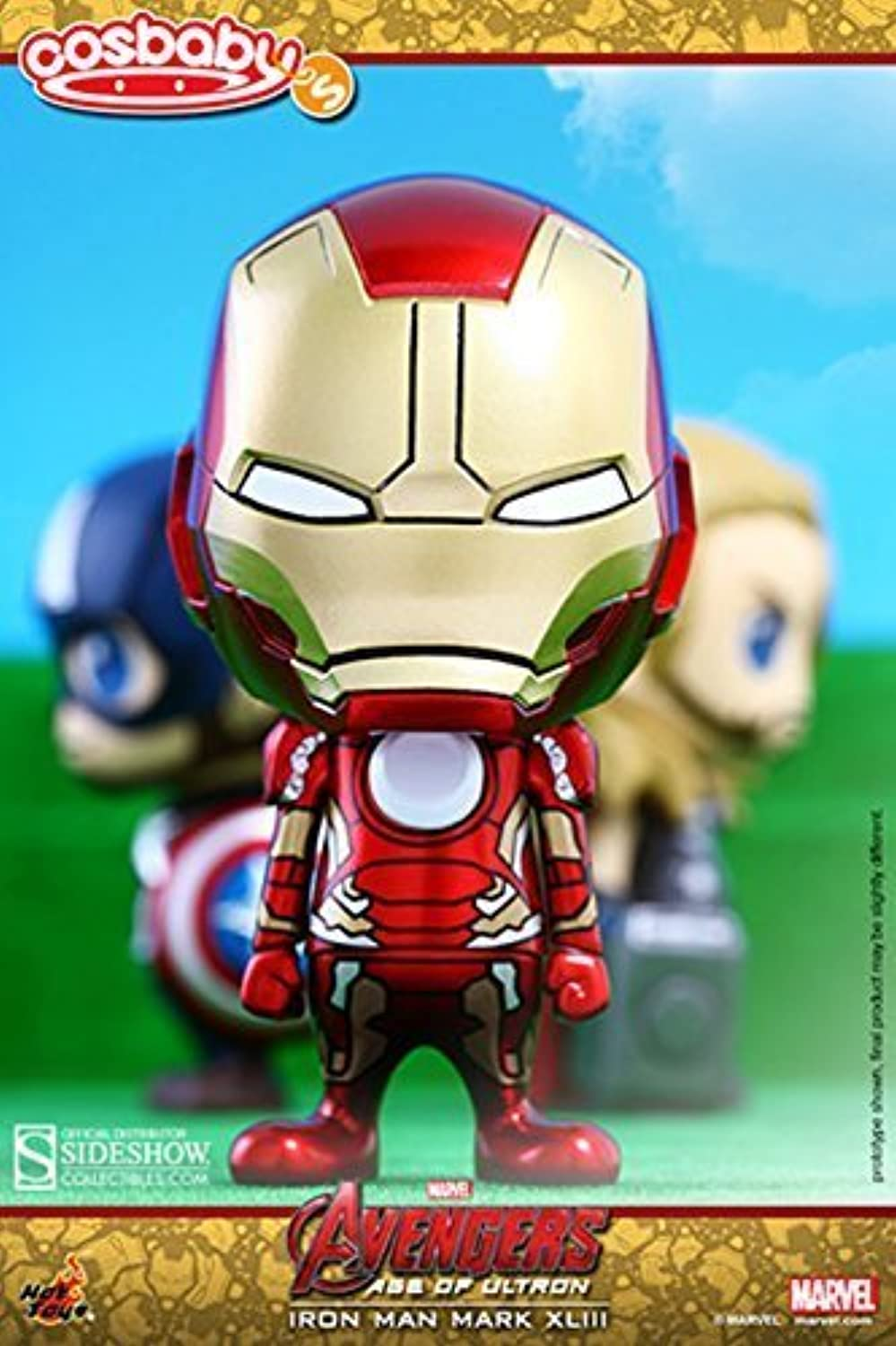 Hot Toys Avengers 2  Age of Ultron Cosbaby Series 1Iron Man Mark XLIII COSB171 by Hot Toys
